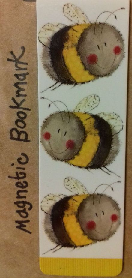 Bumble Bees Magnetic Bookmark